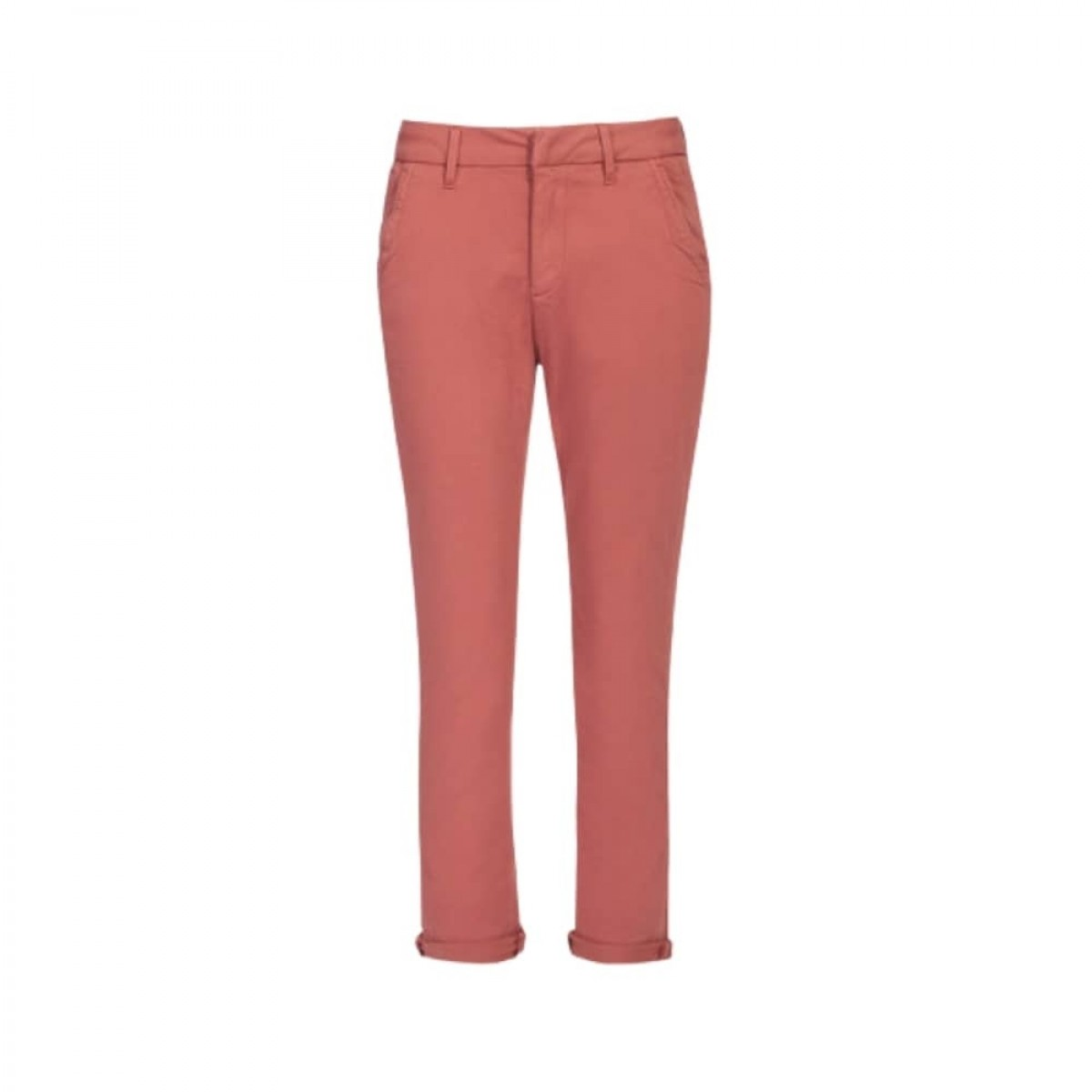 sandy 2 basic chino - ginger spice - front
