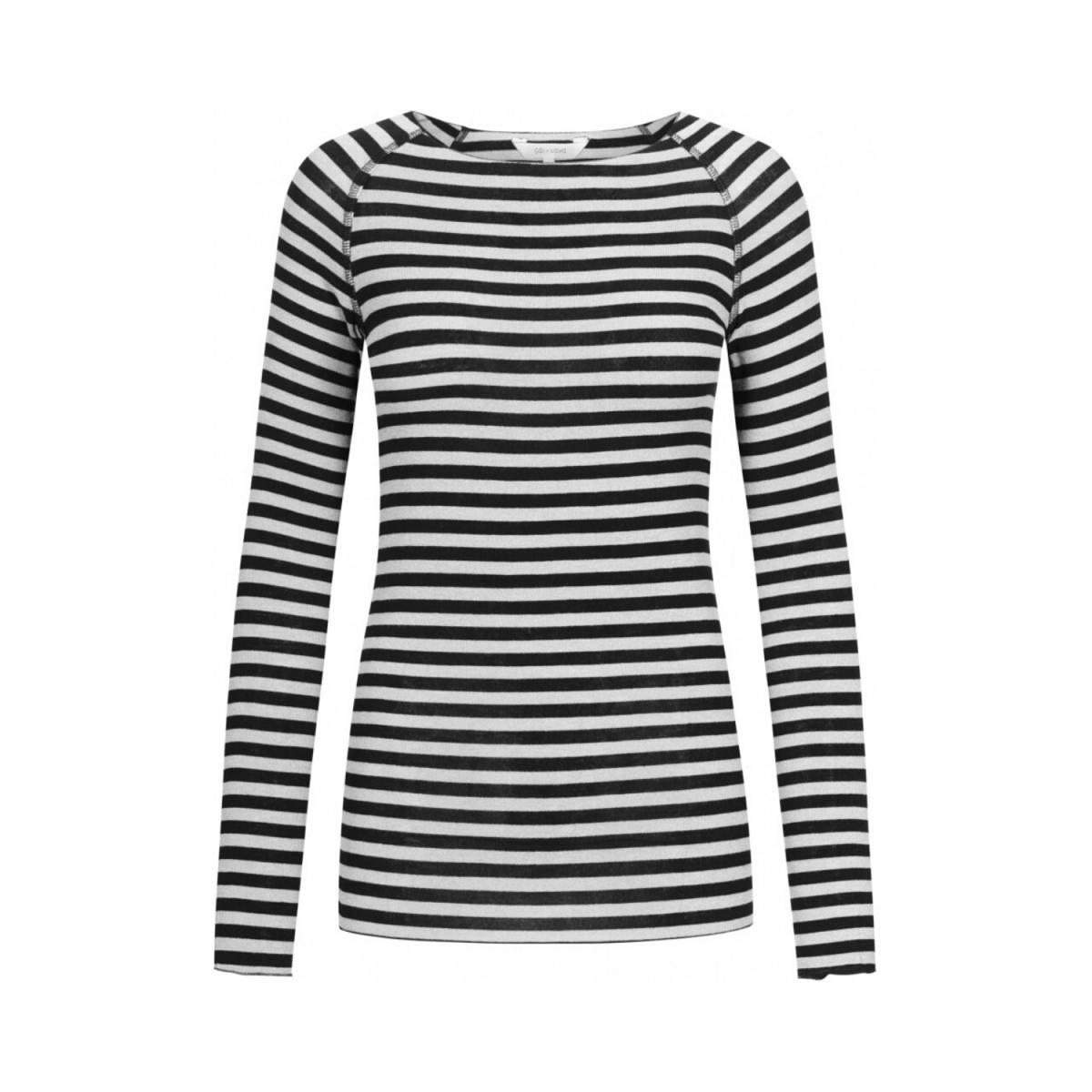 amalie bluse - off white-black