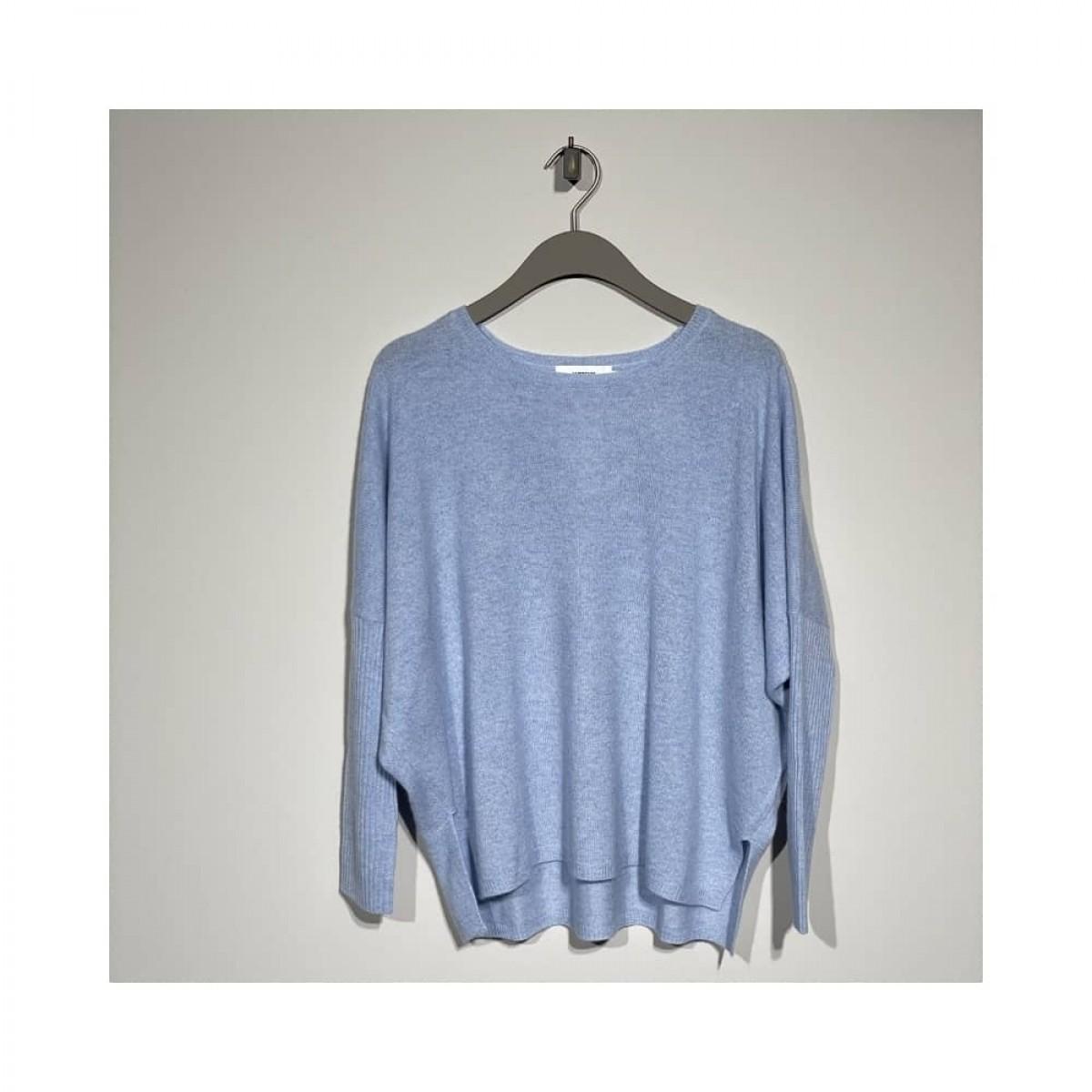 agnes strik - light blue melange