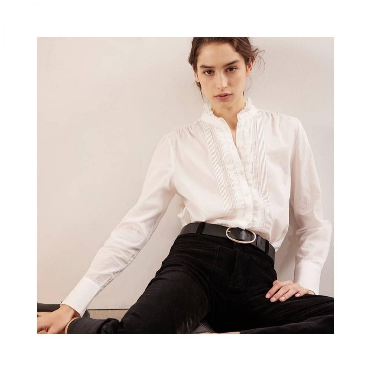remi skjorte bluse - ecru