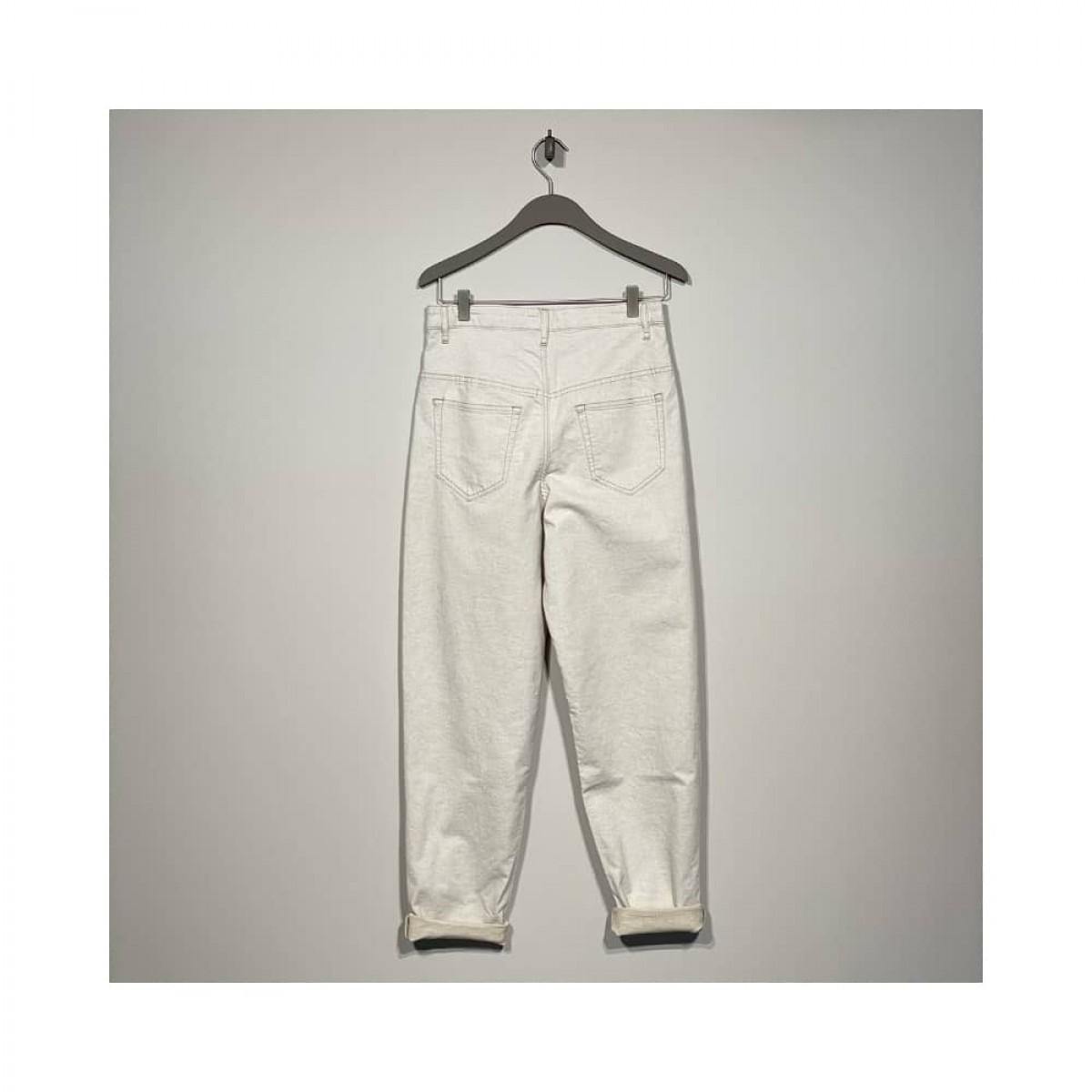 corfy bukser - ecru - bag
