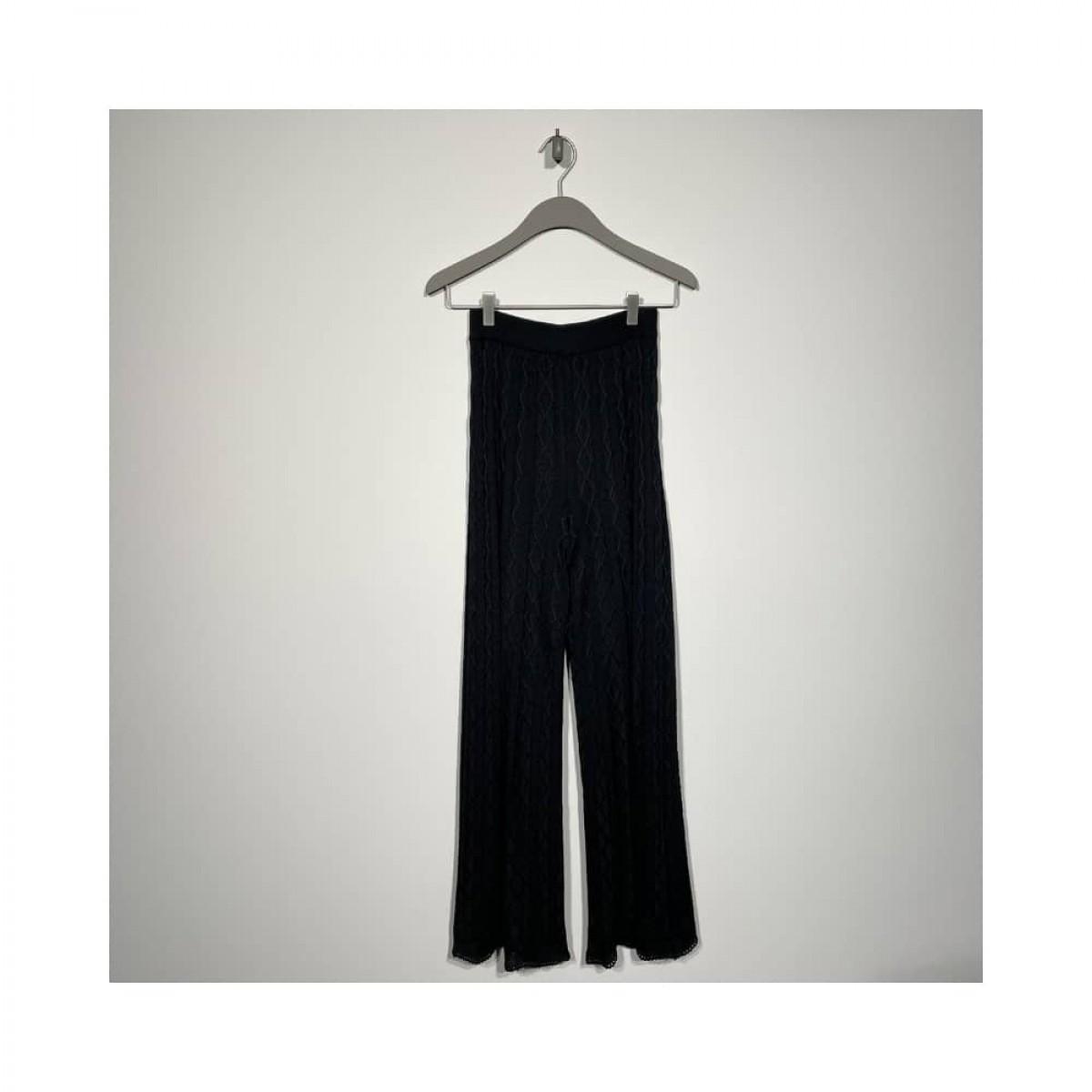 m missoni bukser - black