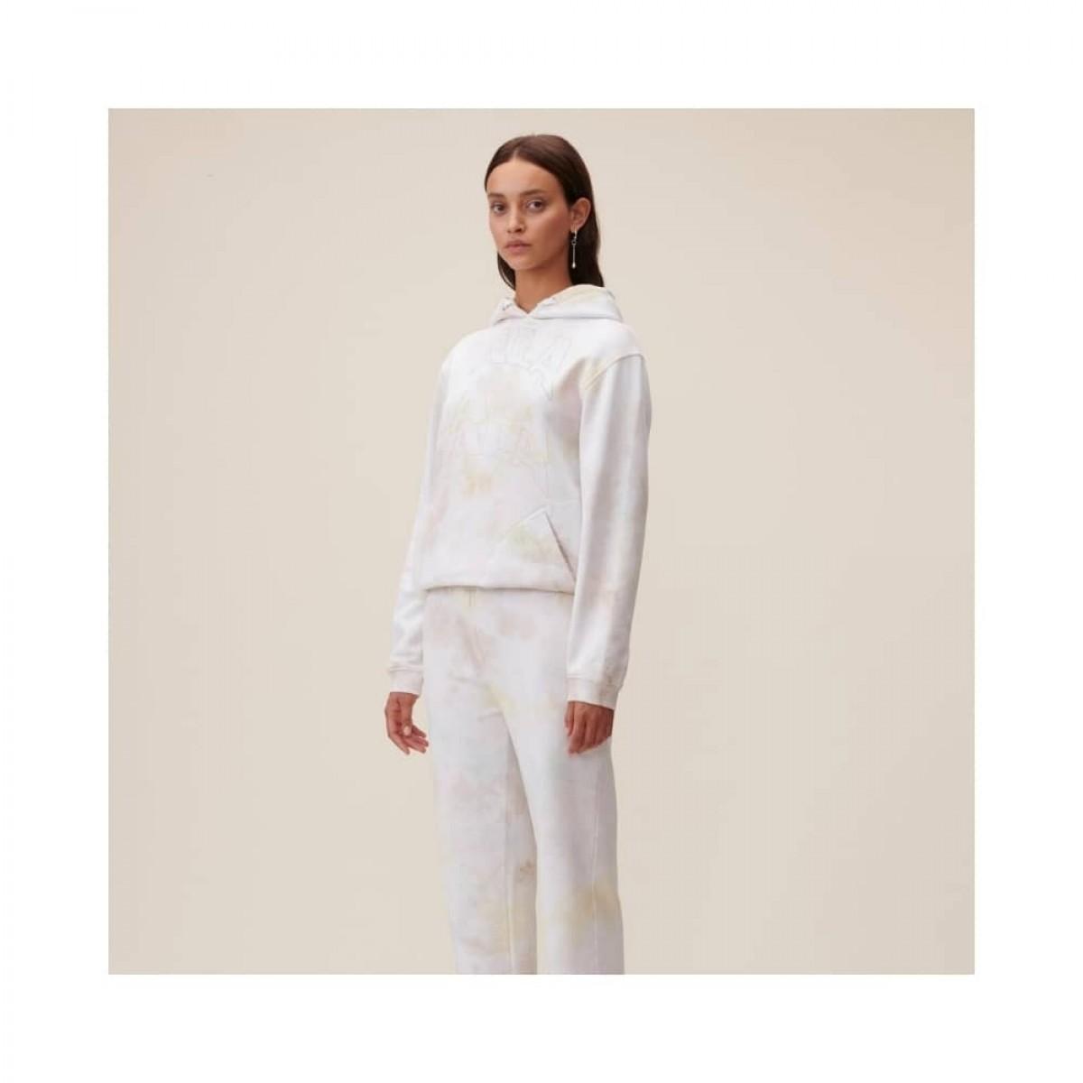 hoodie irmin sweat - pastel multicolor - model front
