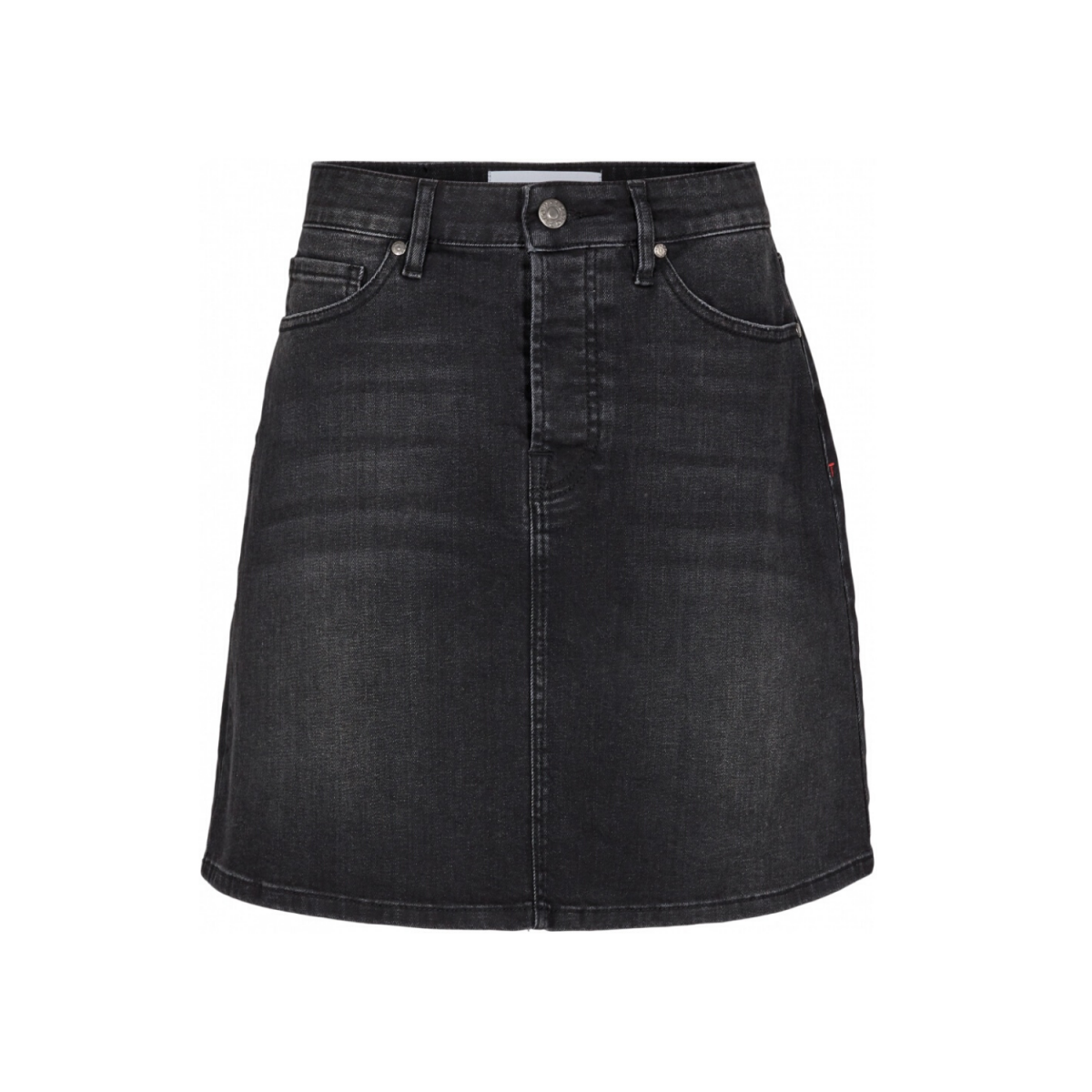 mandela denim skirt original - black