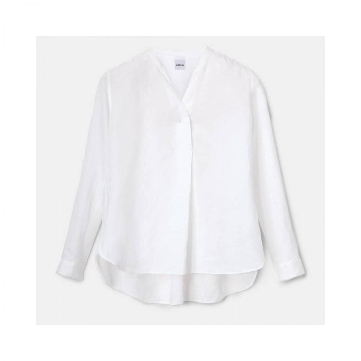 camicia donna skjorte - white - front