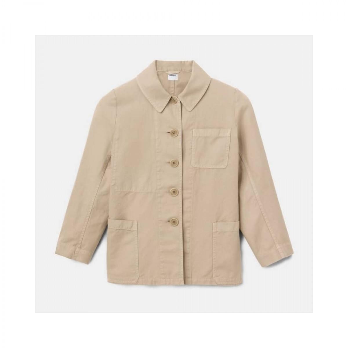 giacca donna jakke - beige - front