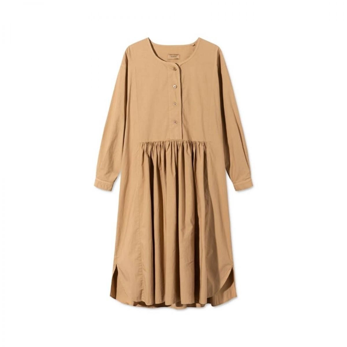 dixie kjole - light brown