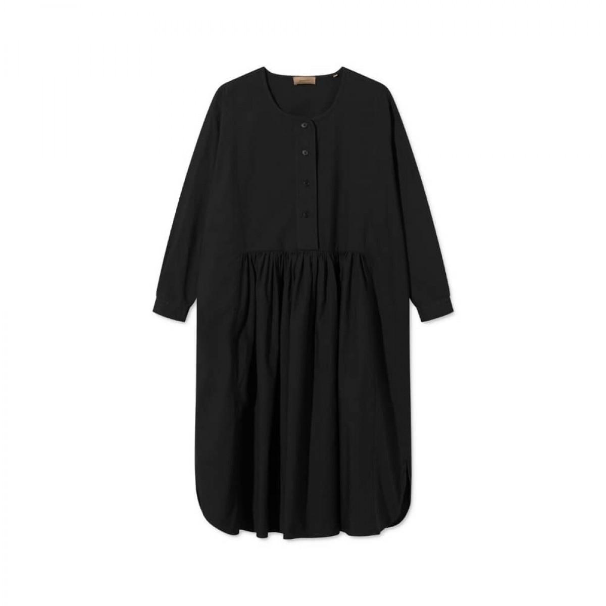 dixie kjole - black - ryg