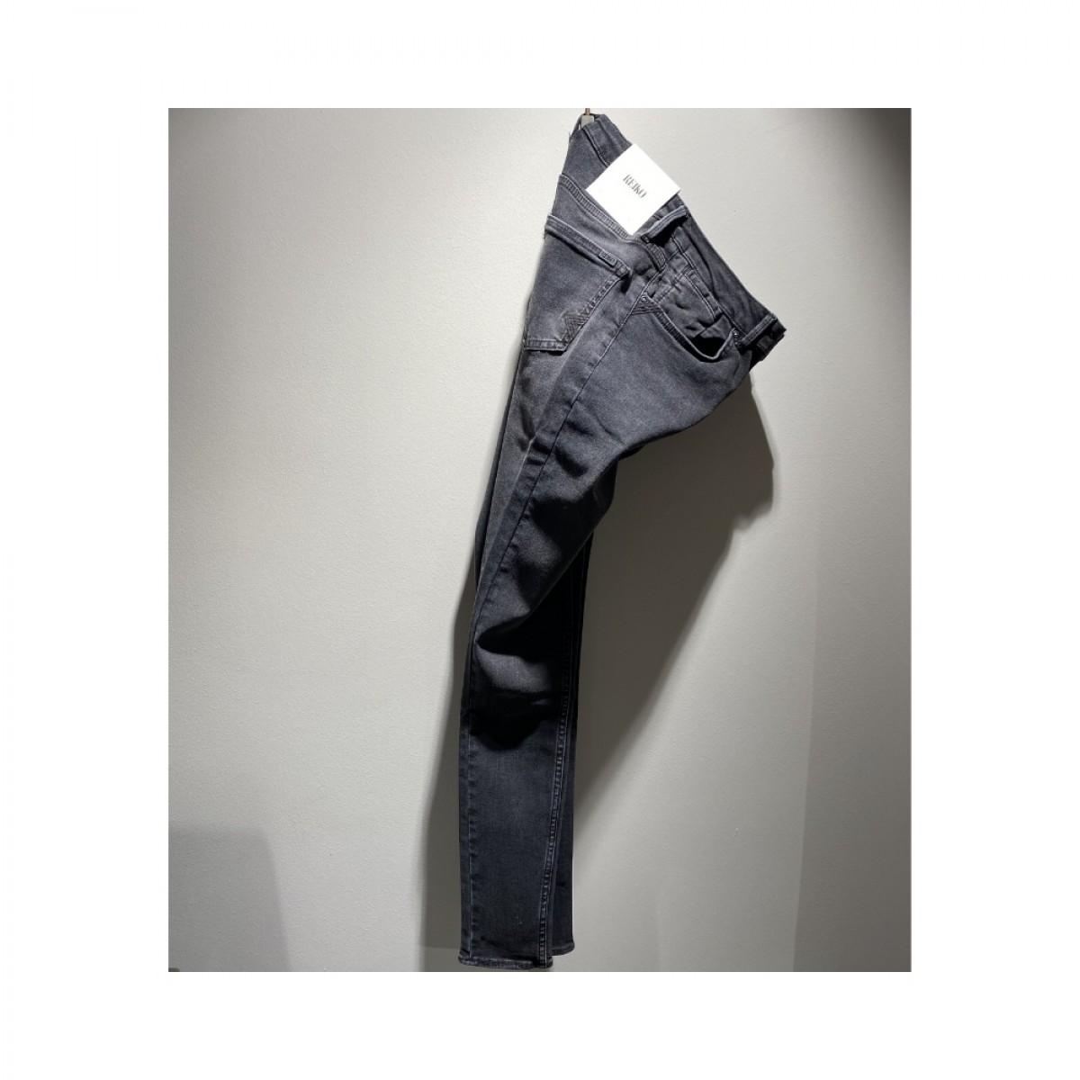 nelly jeans - black - fra siden