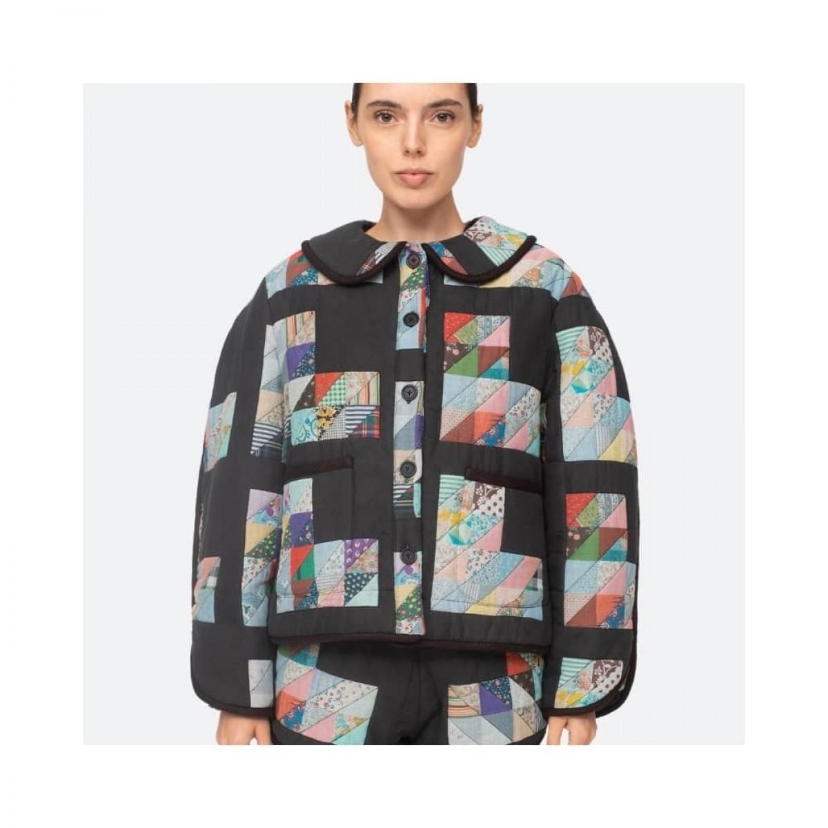 tilia jacket - multi blue