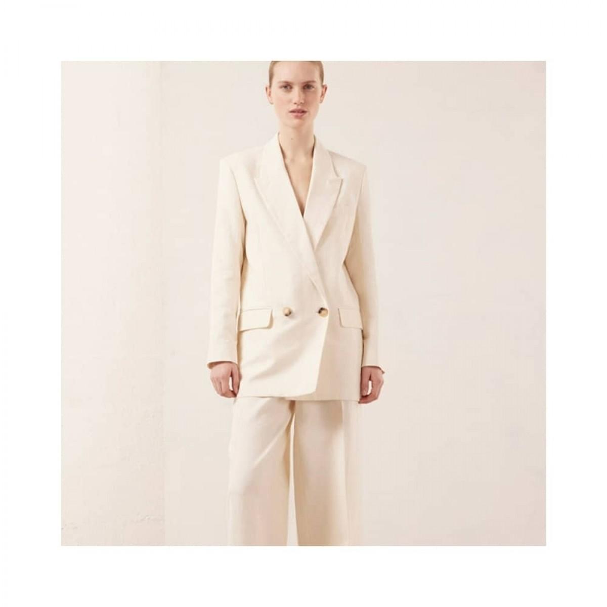 joe jacket - creme - model front