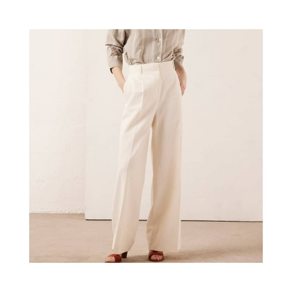 rodolf bukser - creme