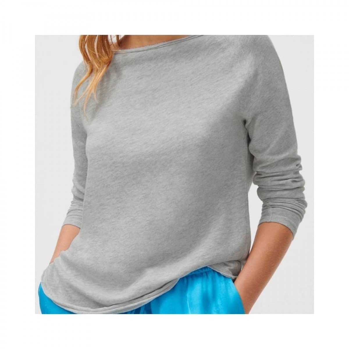 sonoma bluse - heather grey