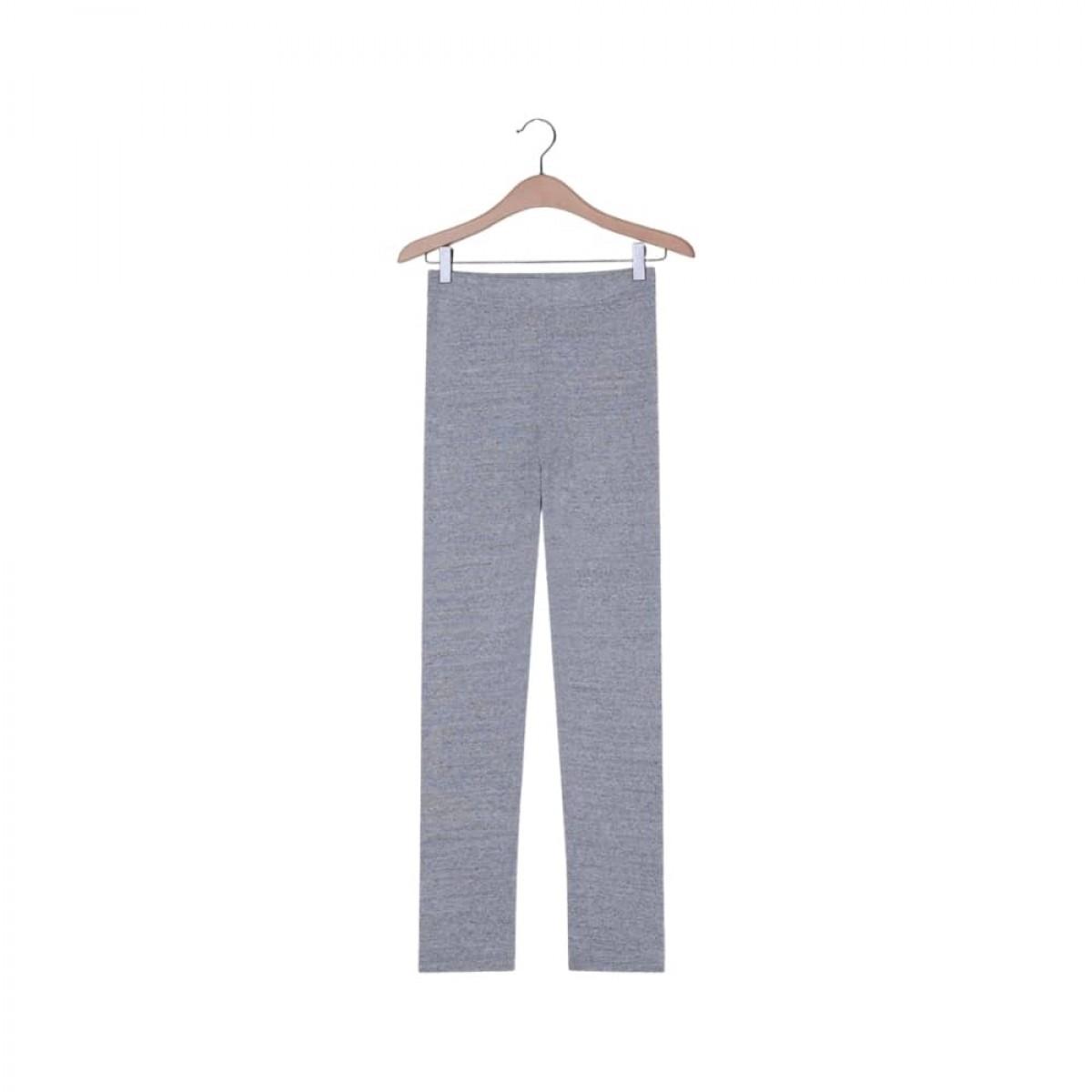 nooby leggins - heather grey - front