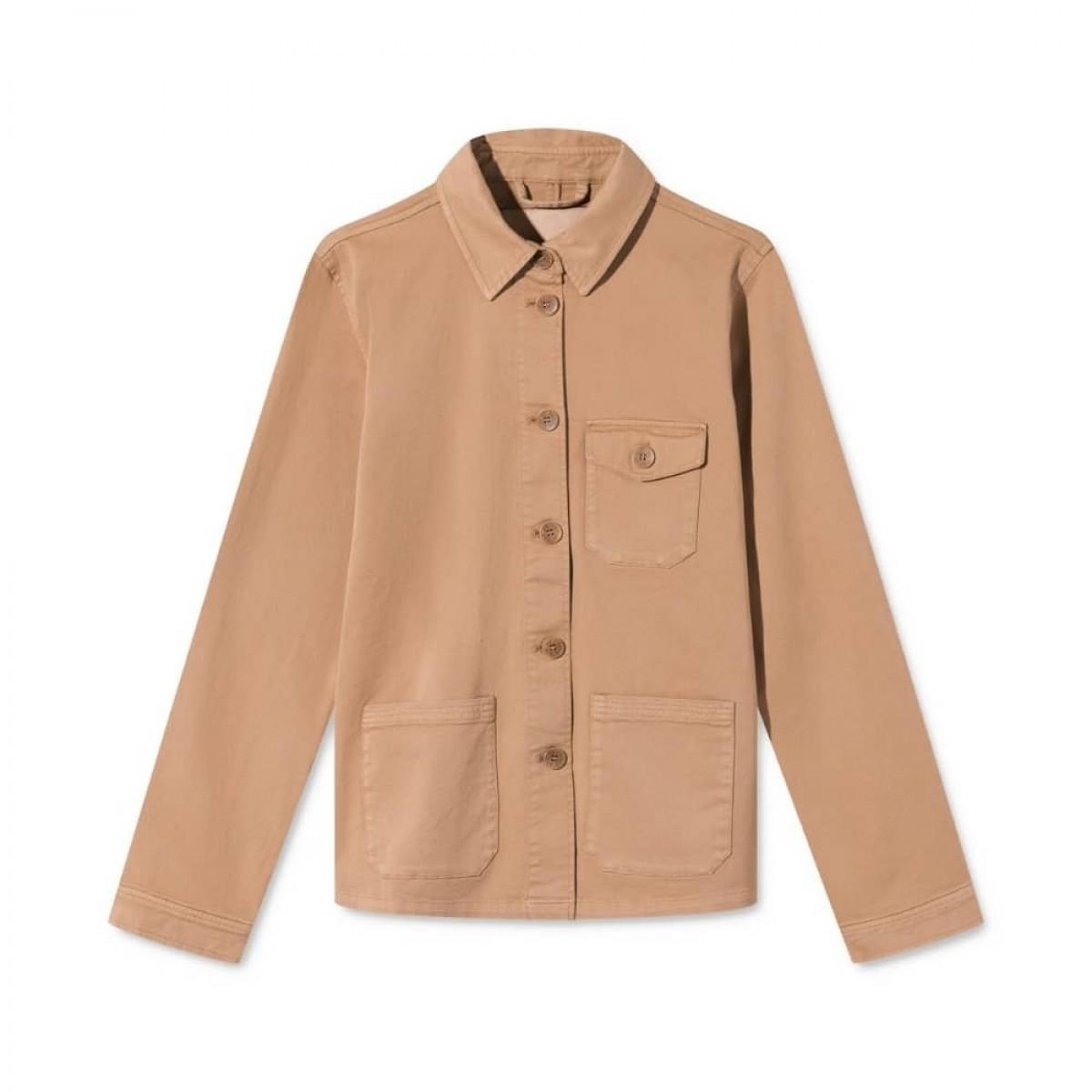 cady workwear jakke - light brown