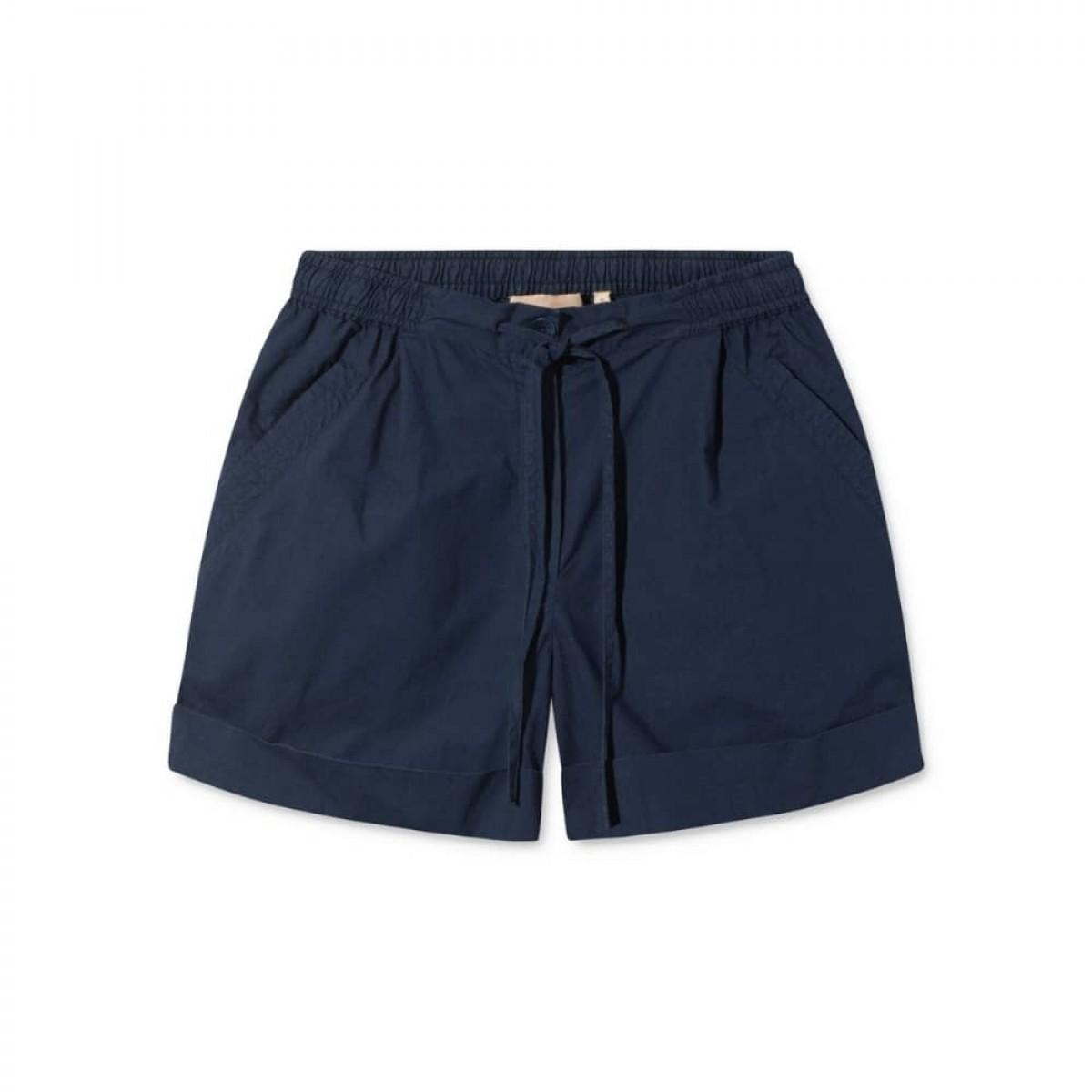 peony shorts - dark navy