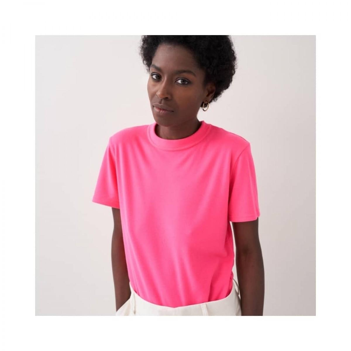 mia t-shirt - neon pink