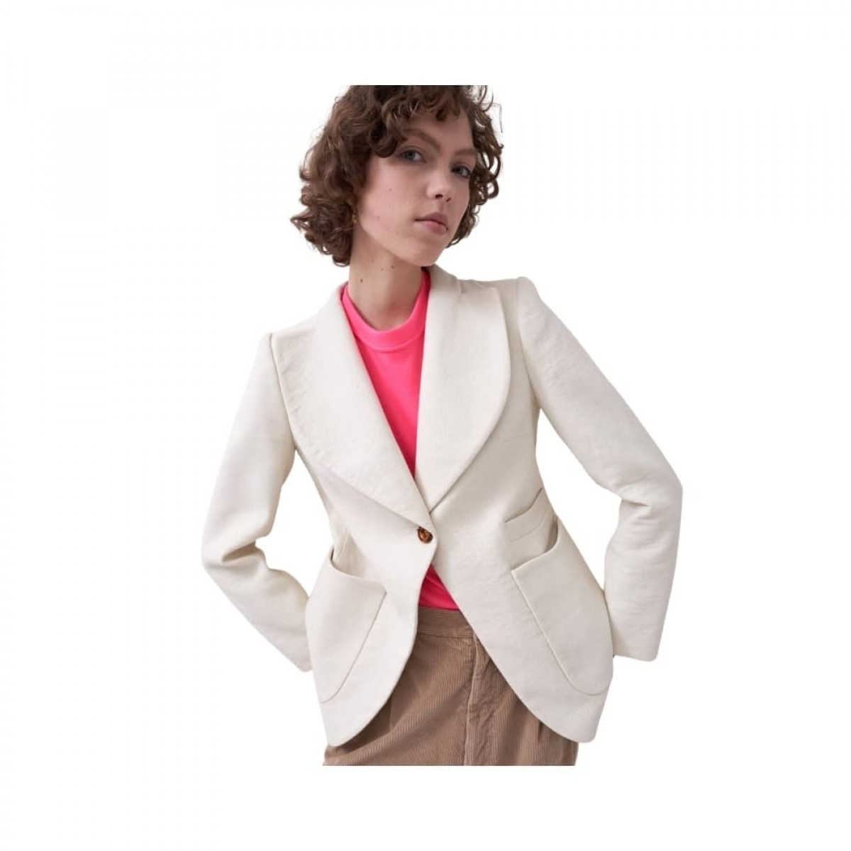 c. rampling jacket - cream