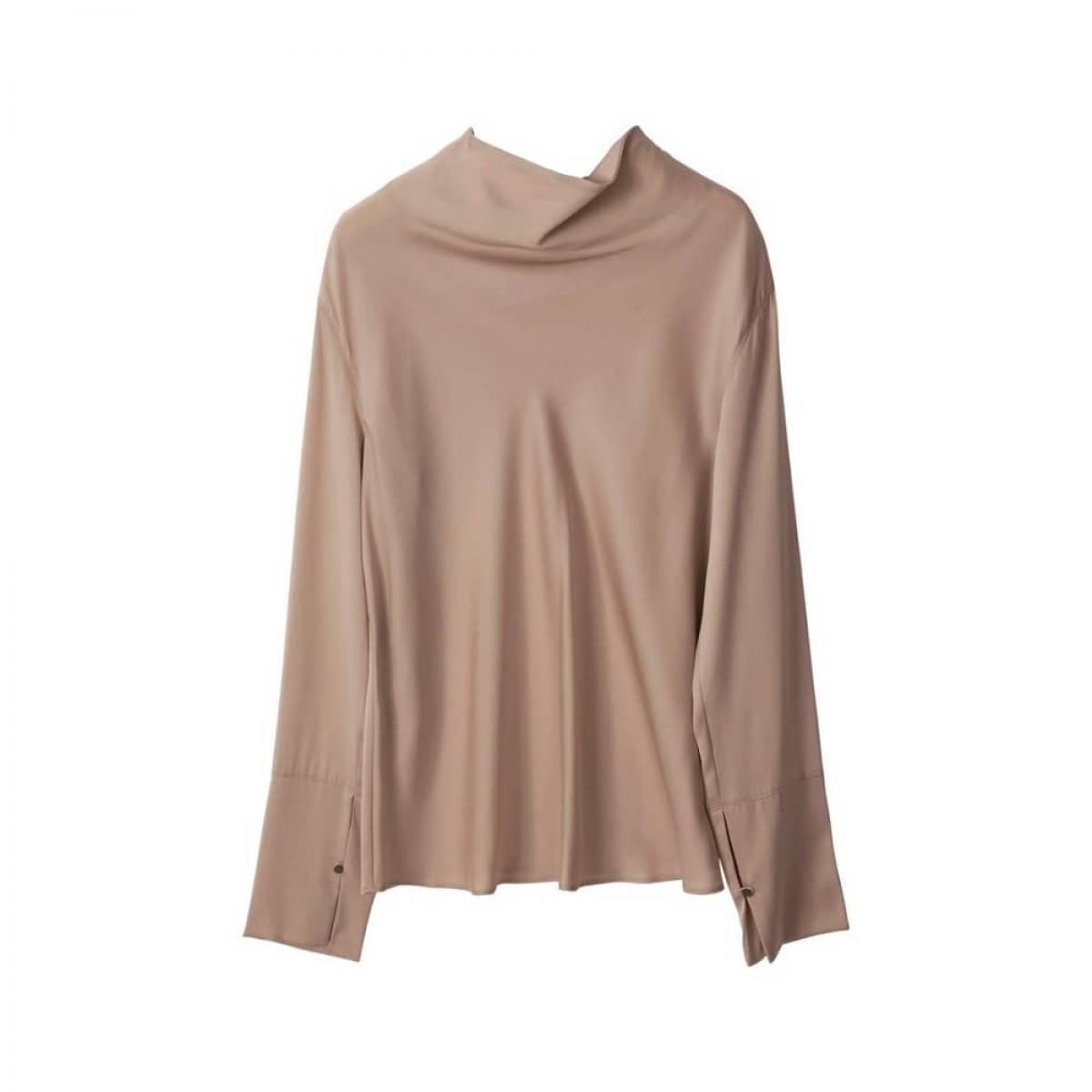 ayumi bluse - sand - front