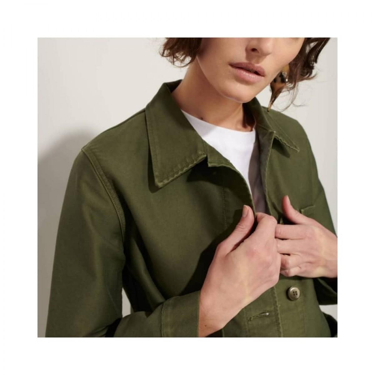 genuine work jacket - kaki - krave detalje
