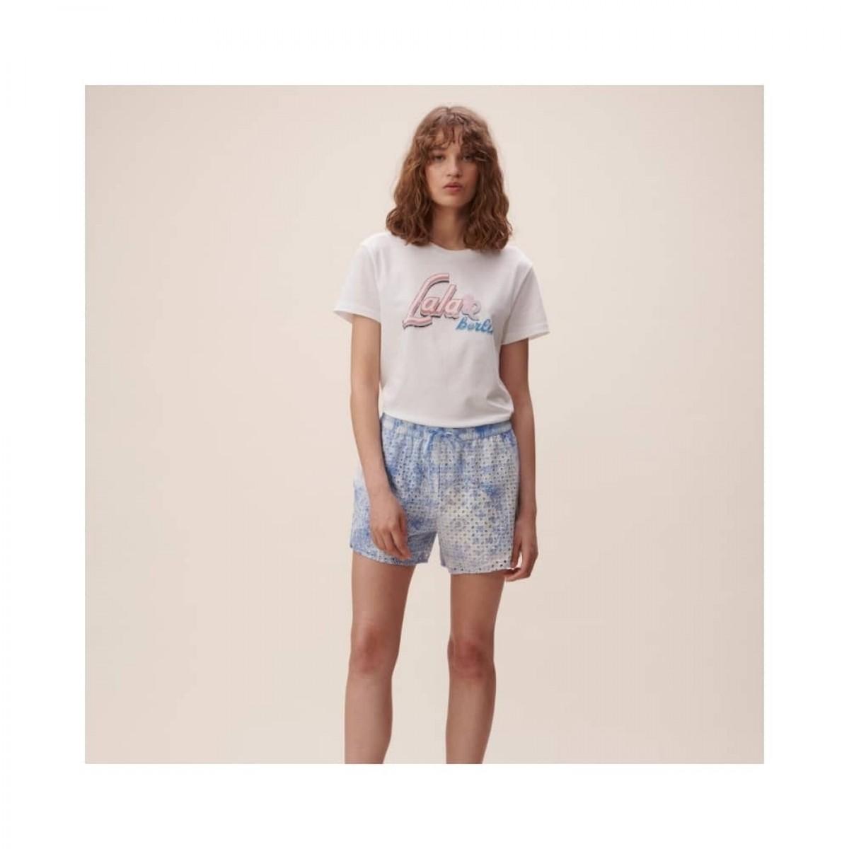 cara t-shirt - white - model front