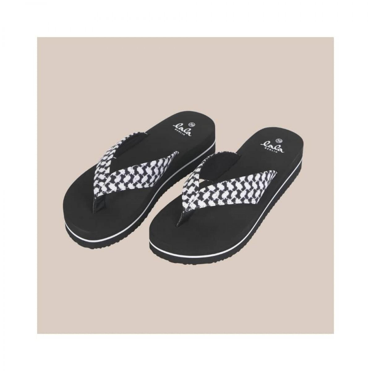 flip flops ally - black - front