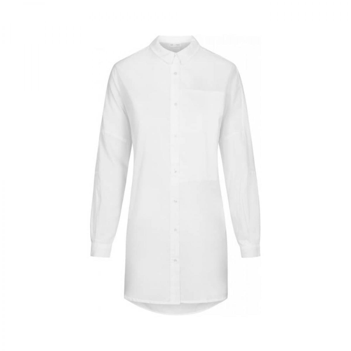 annie skjorte - white - front