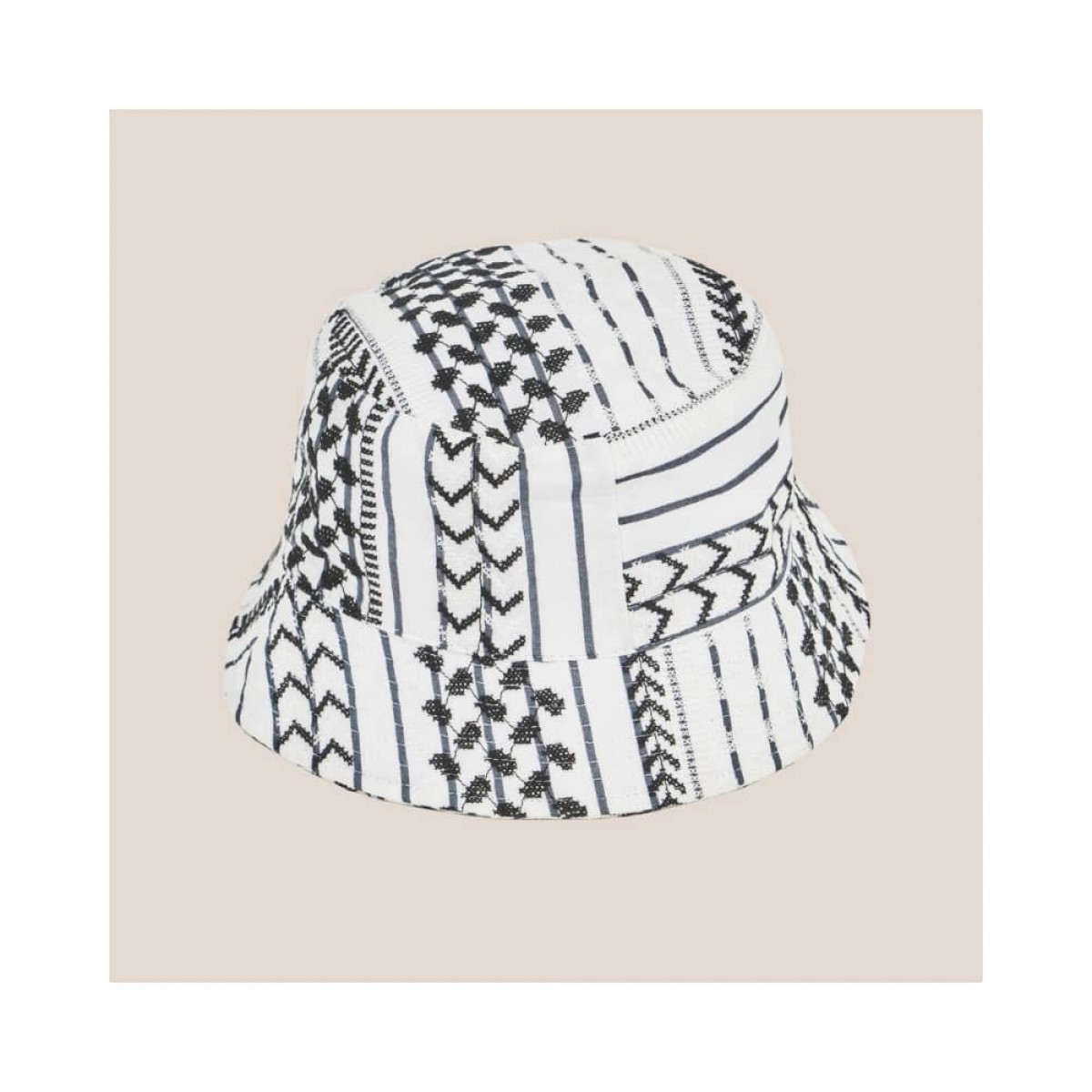 alena hat - white - front