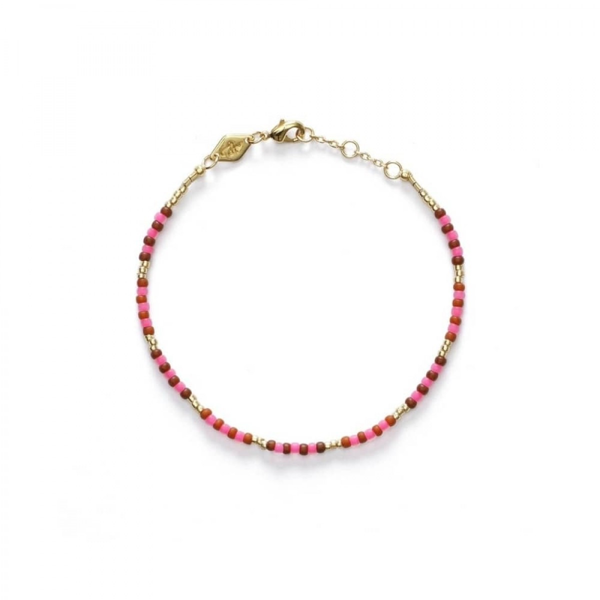 anni lu bundoran bracelet - paradise pink