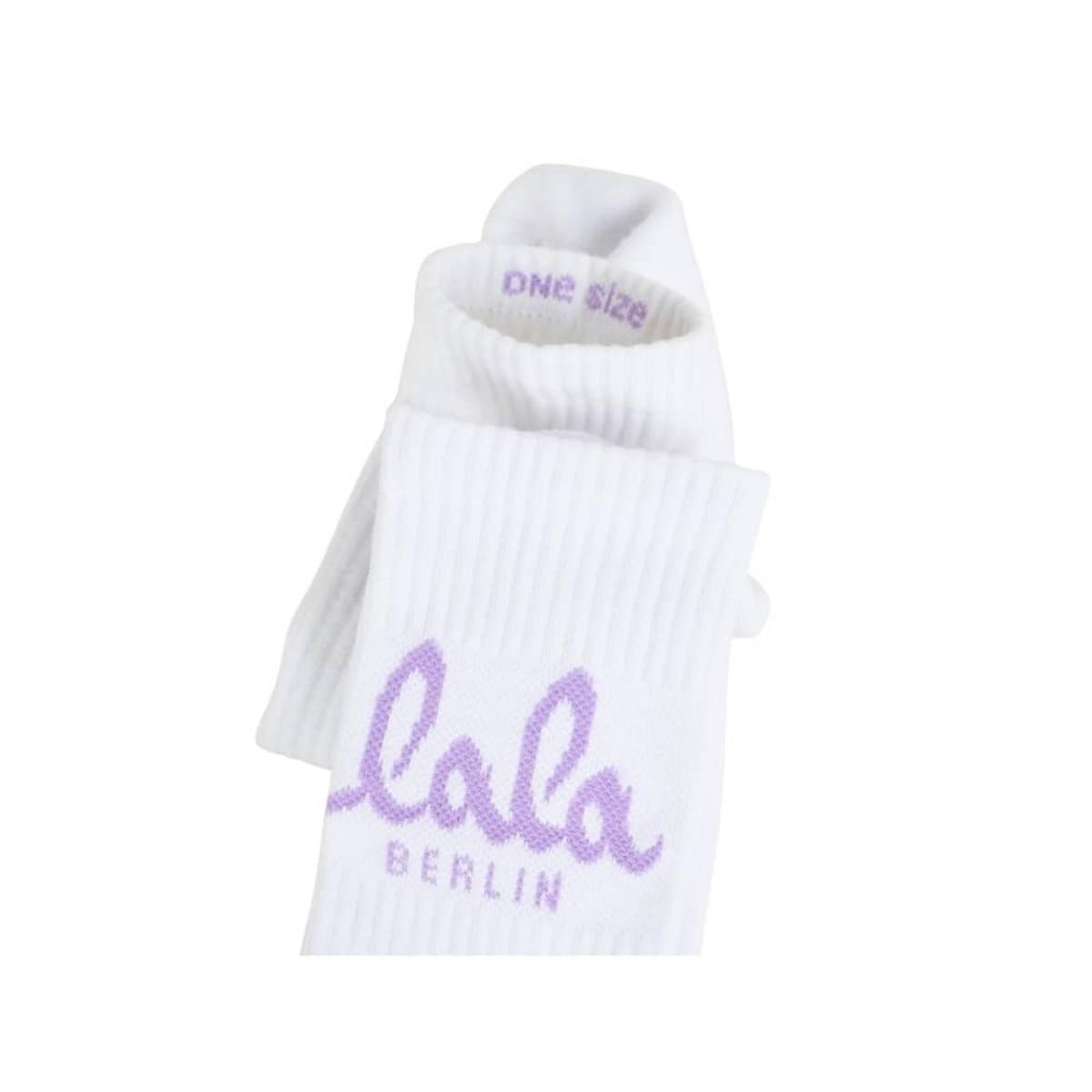 sanny socks logo - lavender logo
