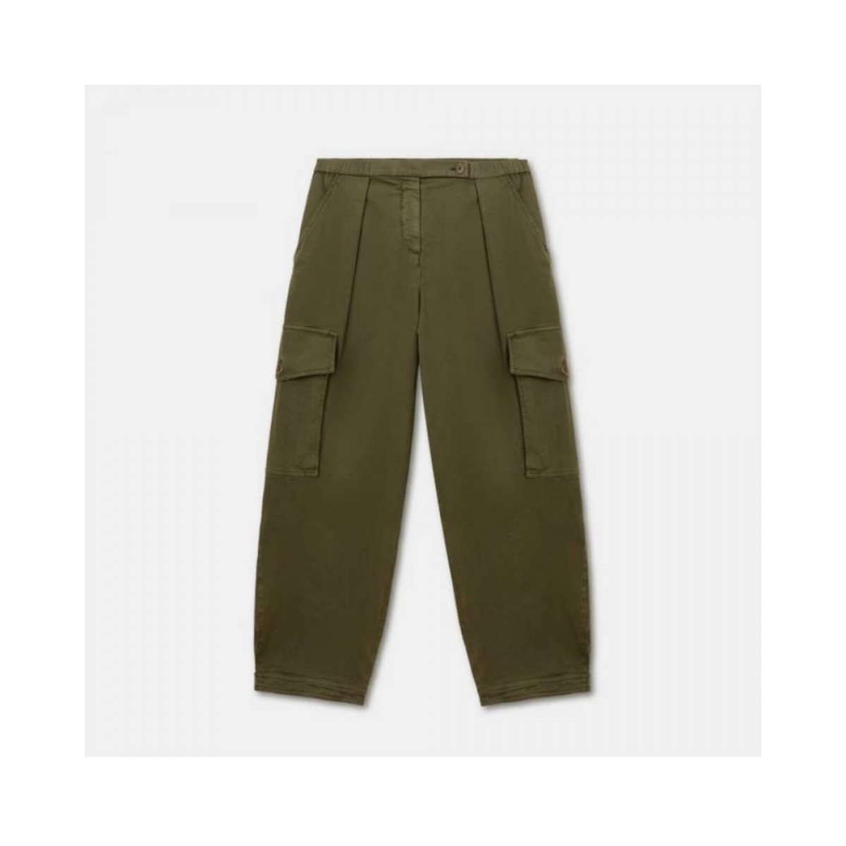 cargo pants - military - front