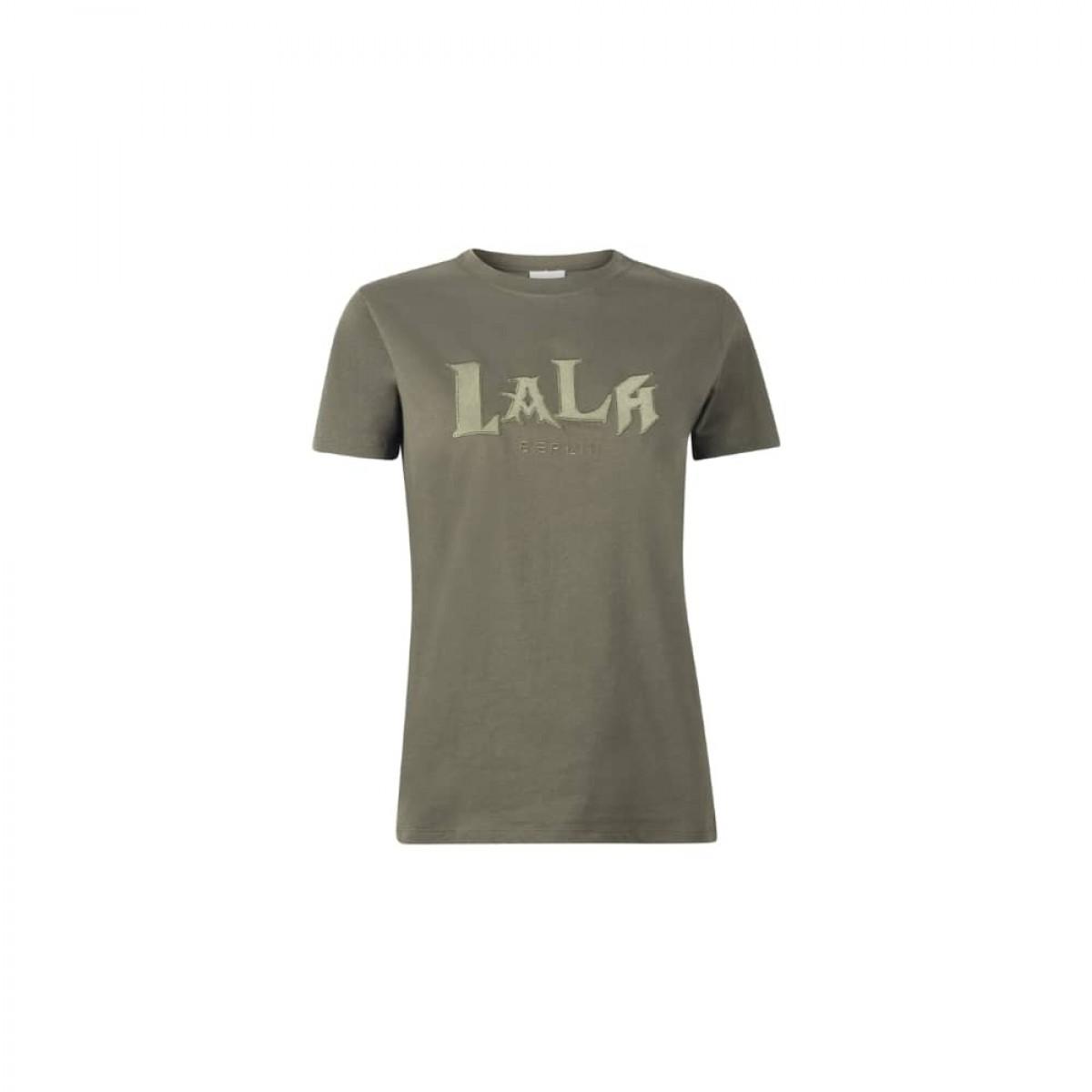 t-shirt reda lala mix - olive night - front