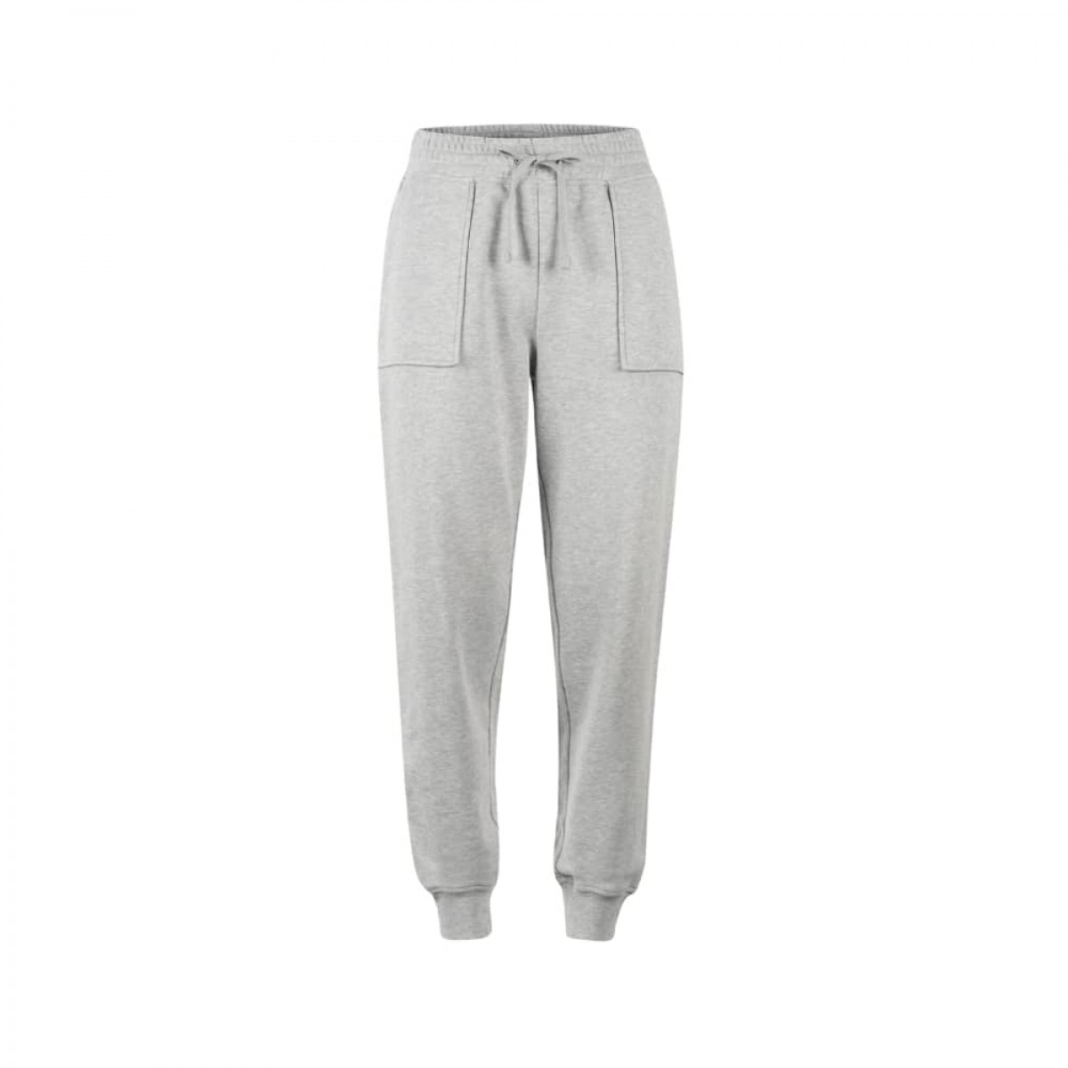 phine sweatpants - grey melange - front
