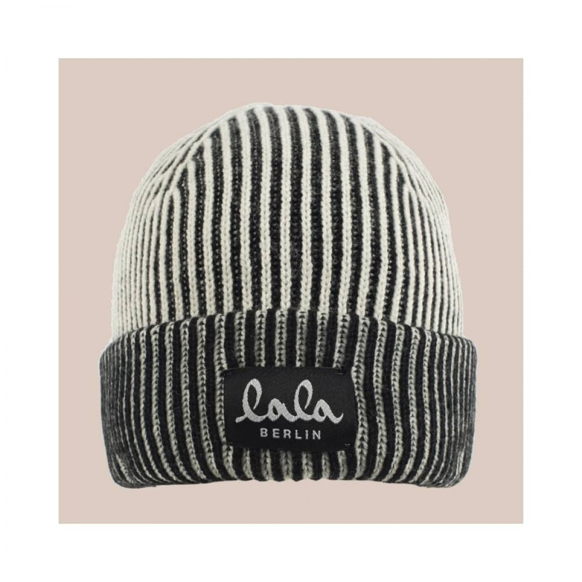 cap lines hue - offwhite - front