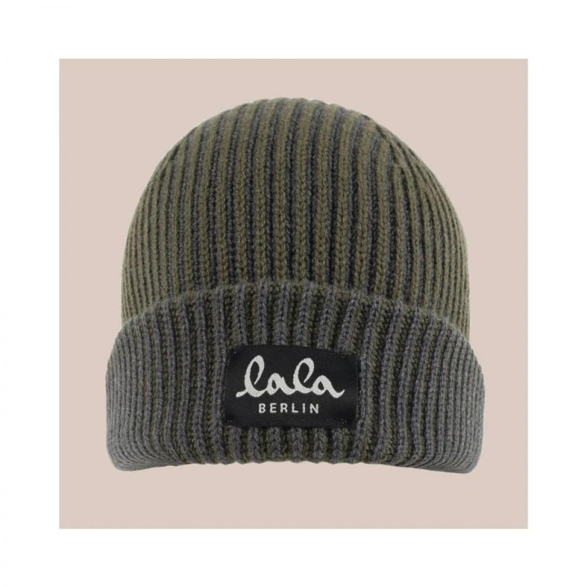 cap lines hue - olive - front