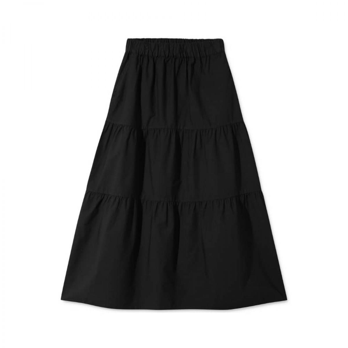 paprika nederdel - black