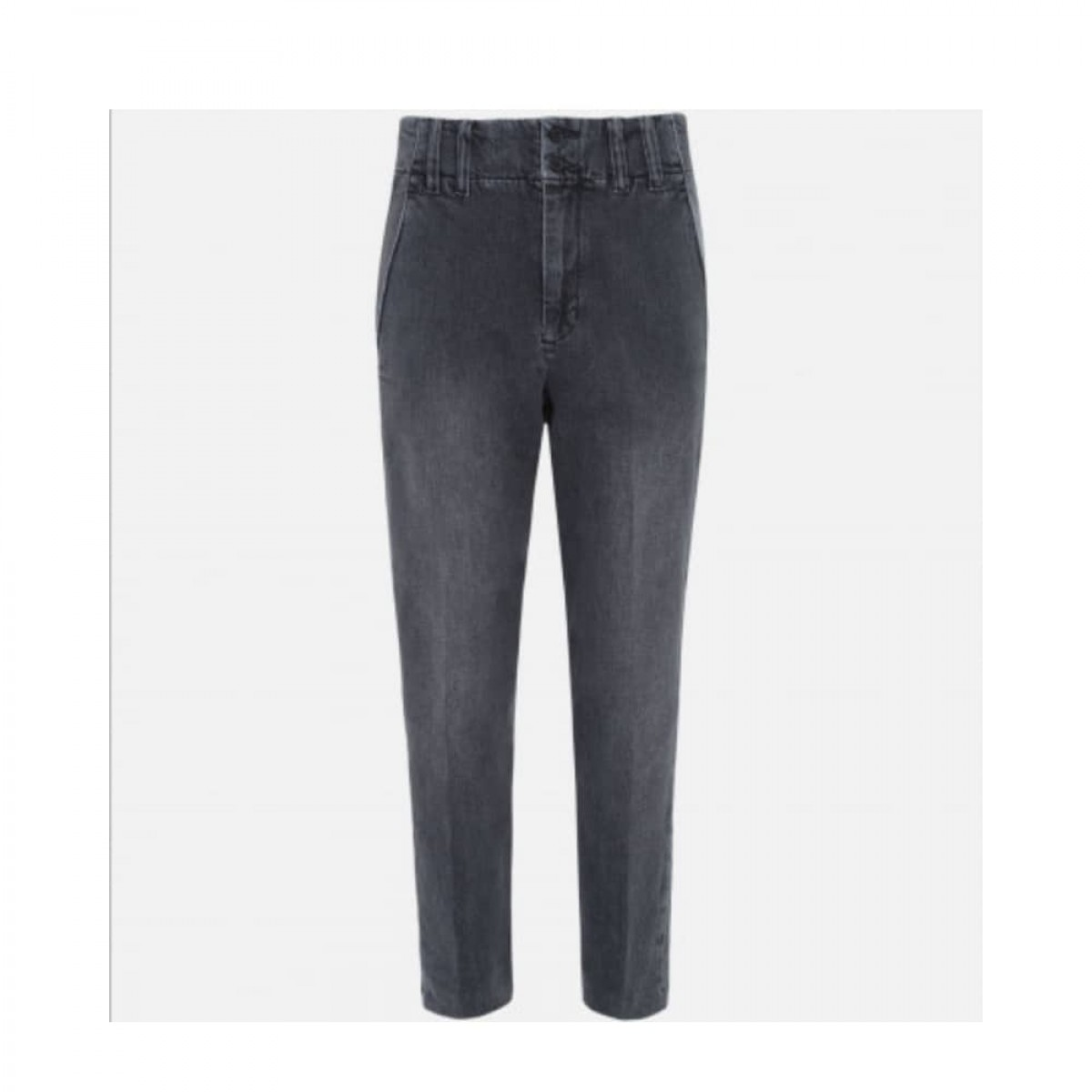 lenny jeans - grey - front