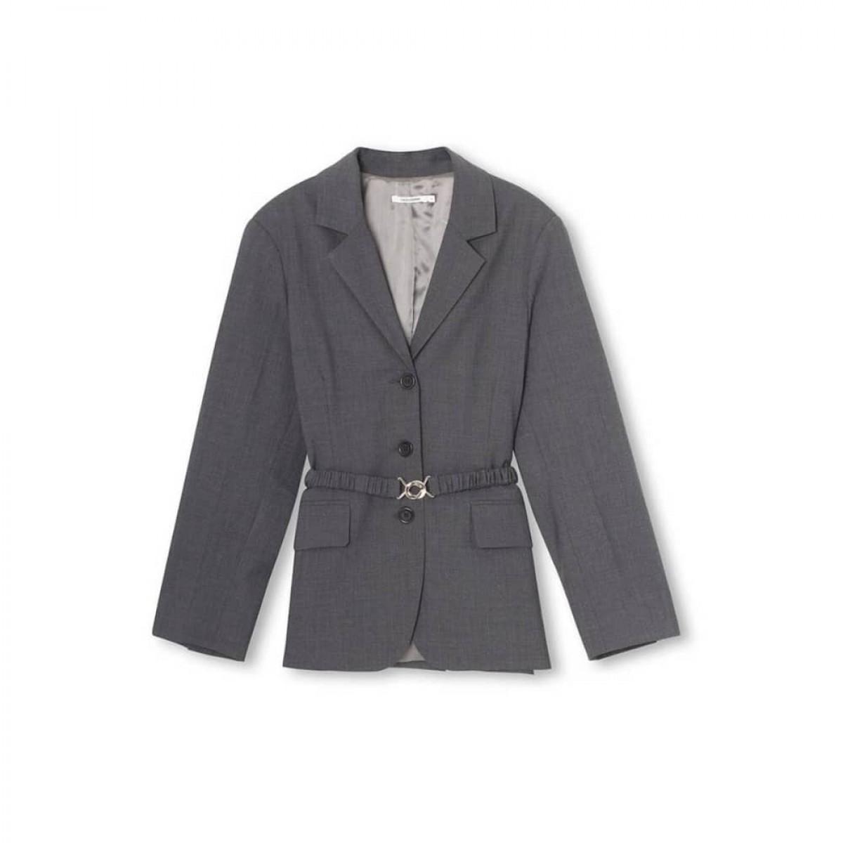 emili jacket - black - front