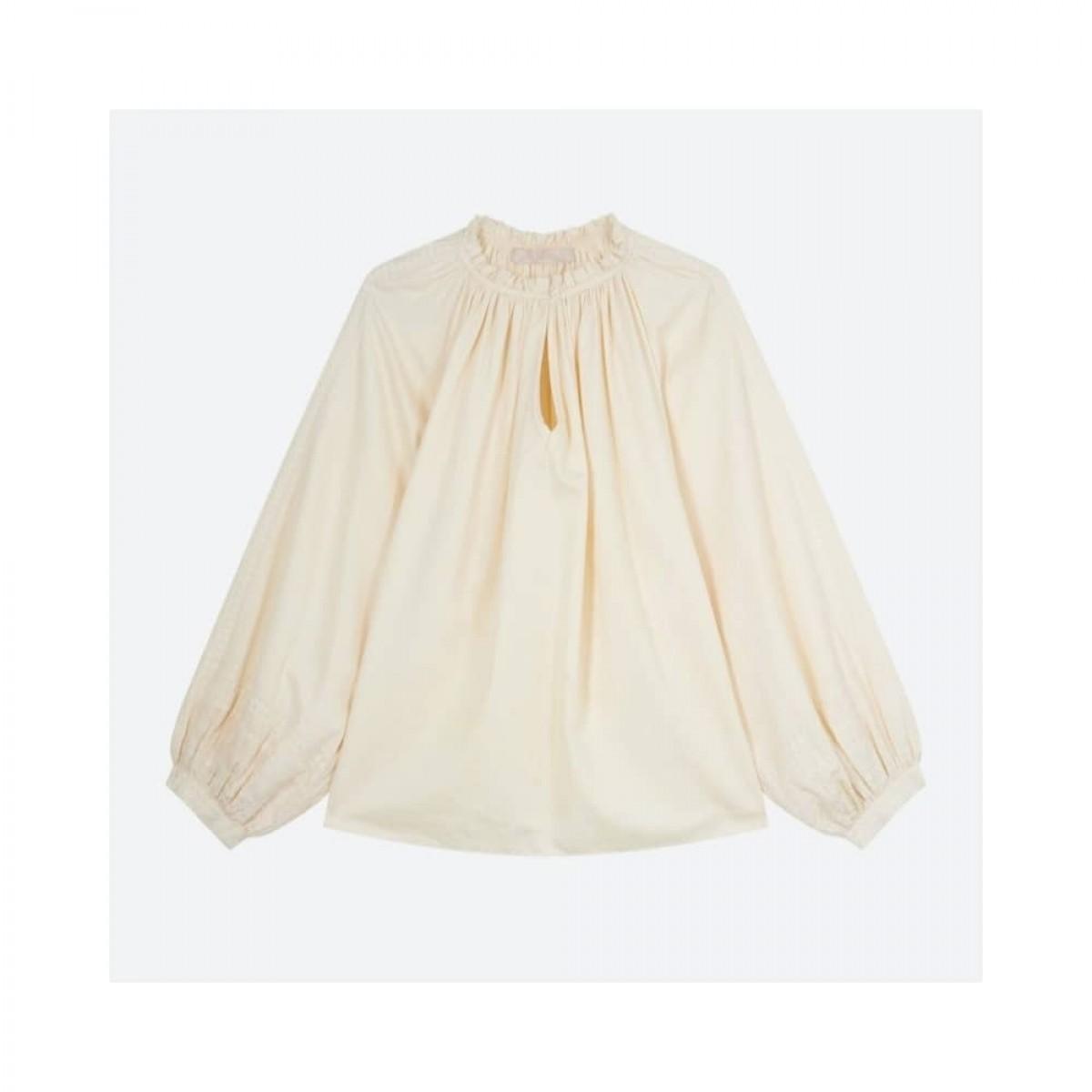 meyer bluse - ivoire - front