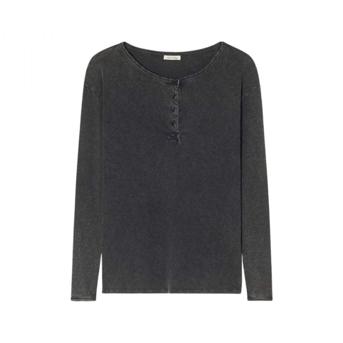 sonoma grandad bluse - vintage black - front