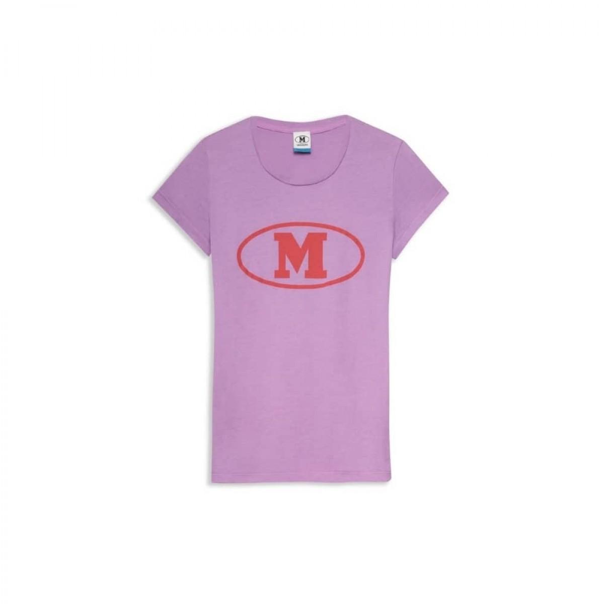 m missoni t-shirt - purple - front