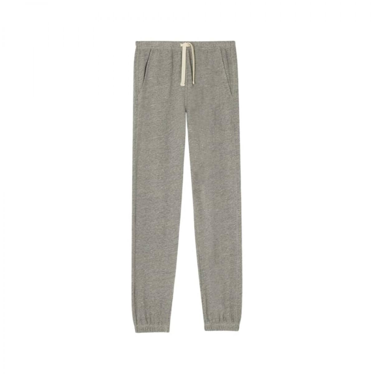 plomer sweat bukser - heather grey - front