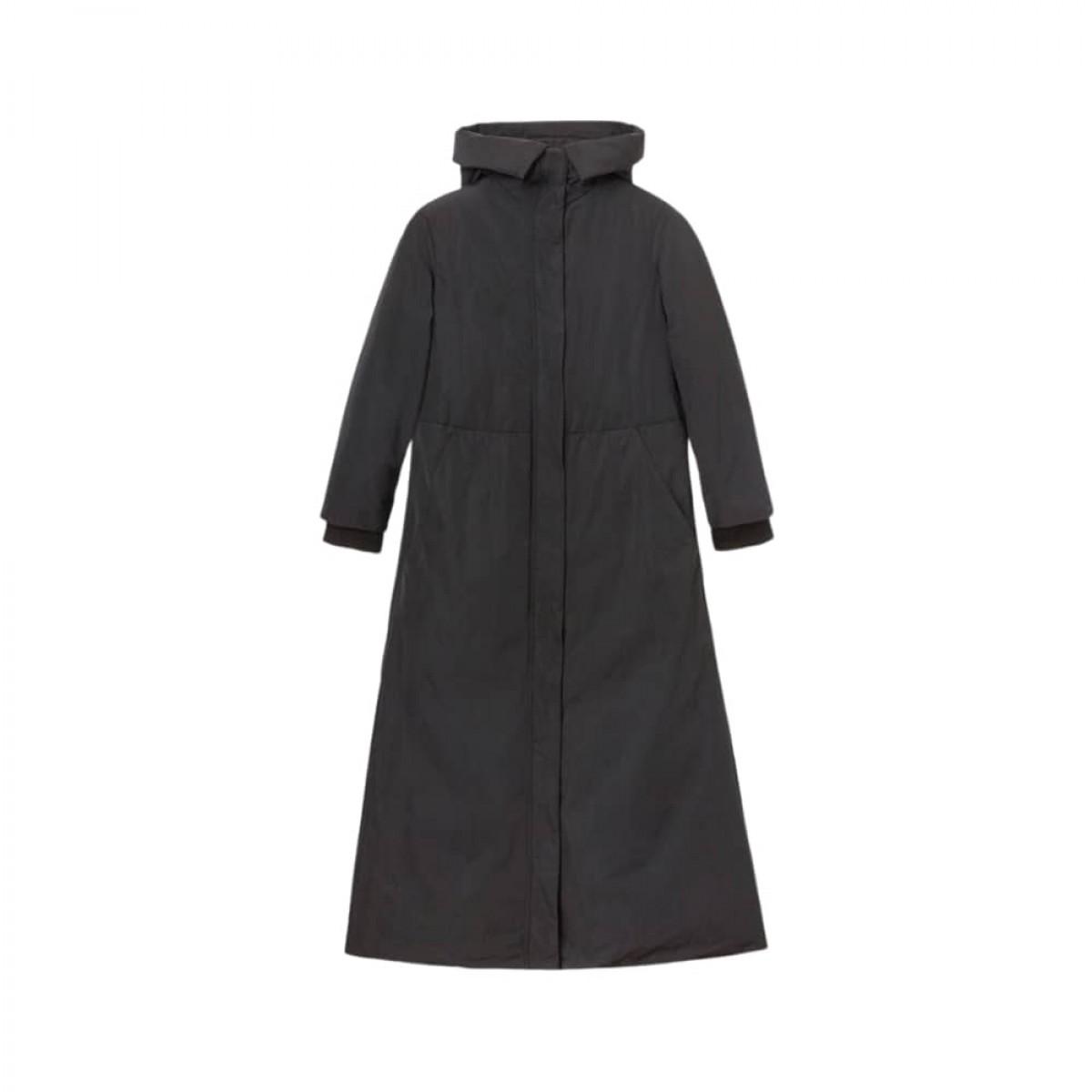 aspesi frakke - black - front