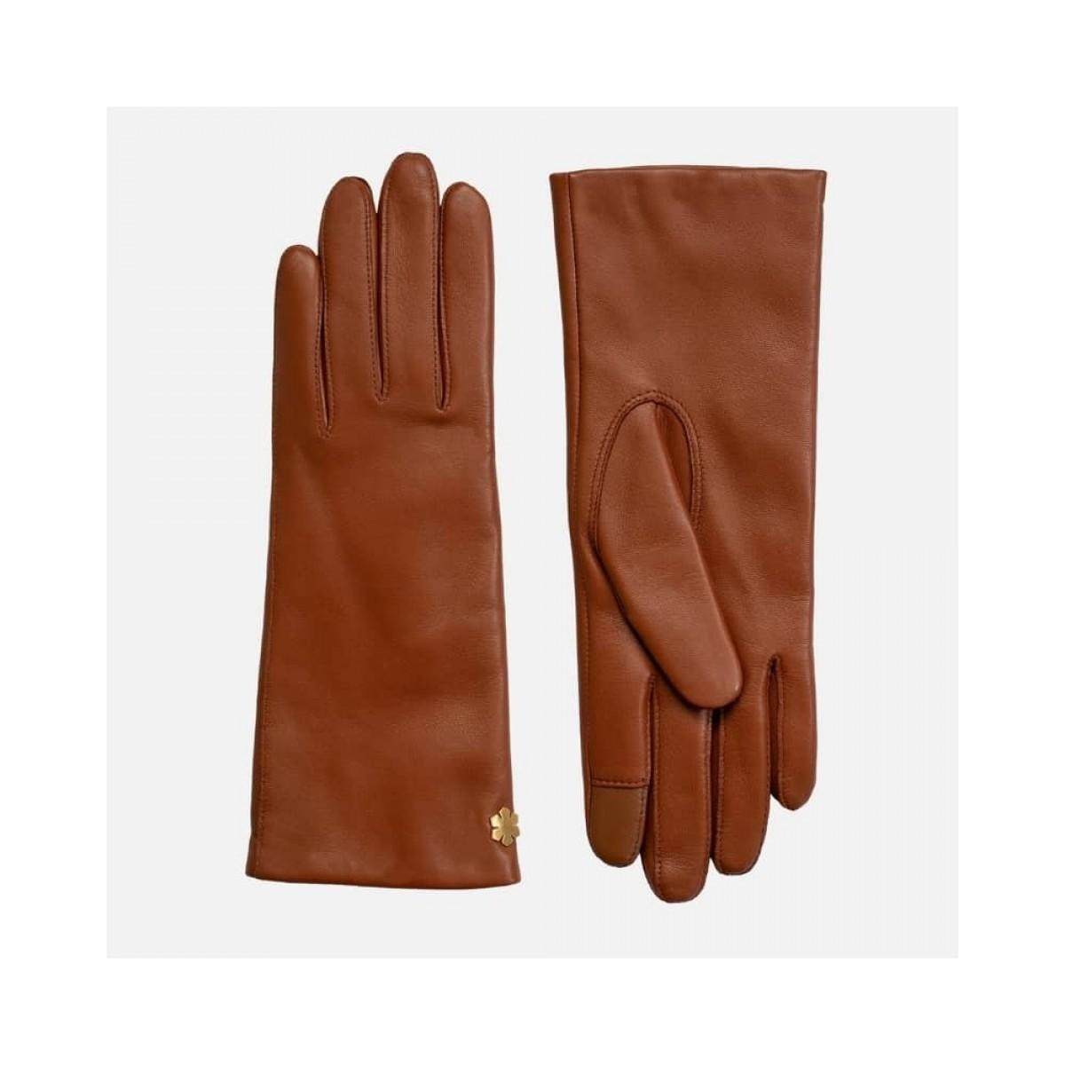 anna handske - cognac - front