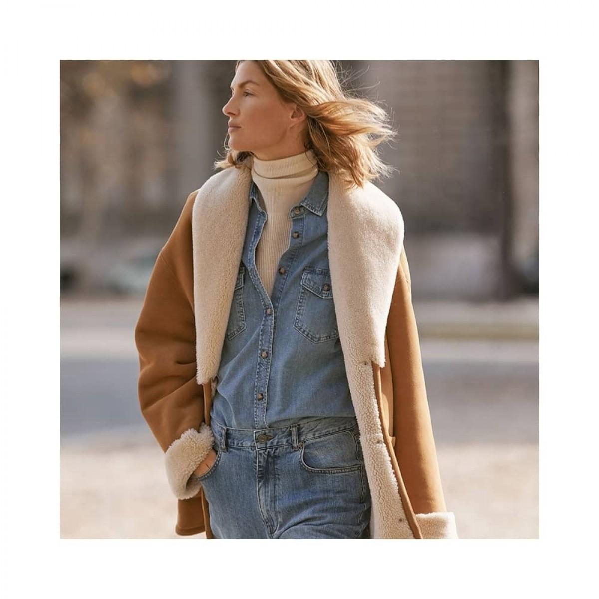 sambo jacket rulam - marron