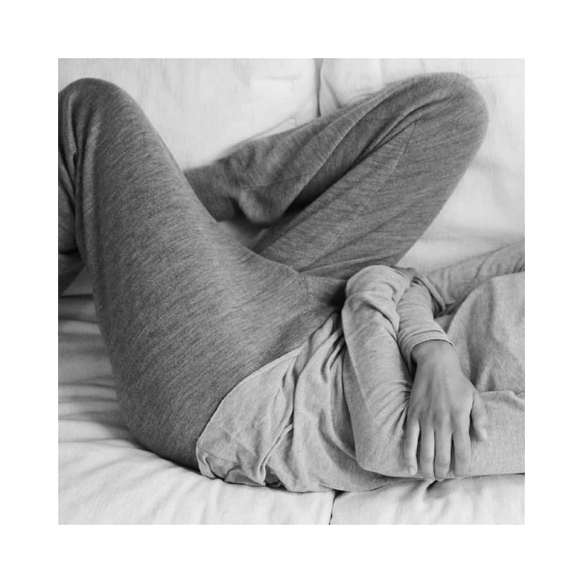 karina pants - grey melange