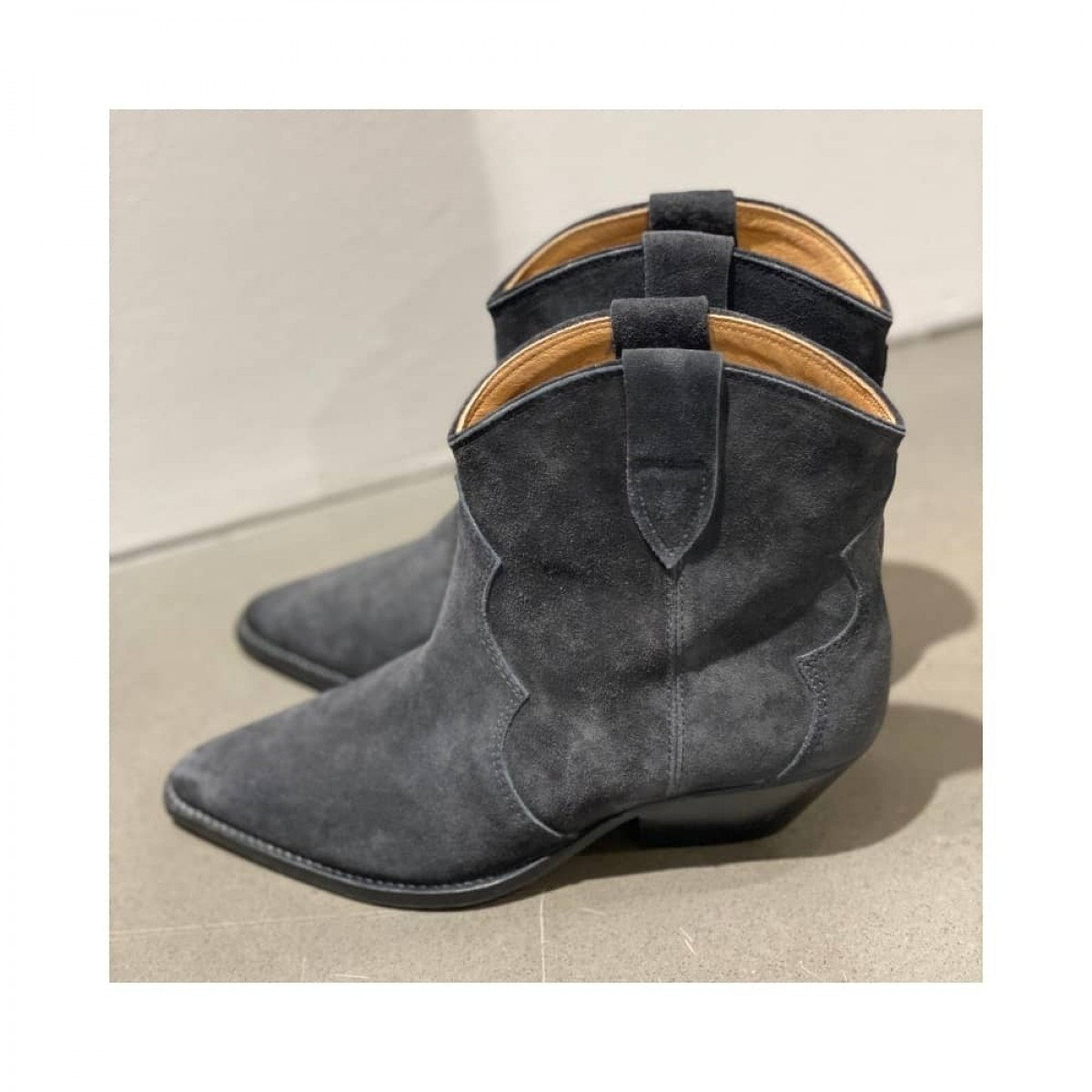 dewina boots - faded black