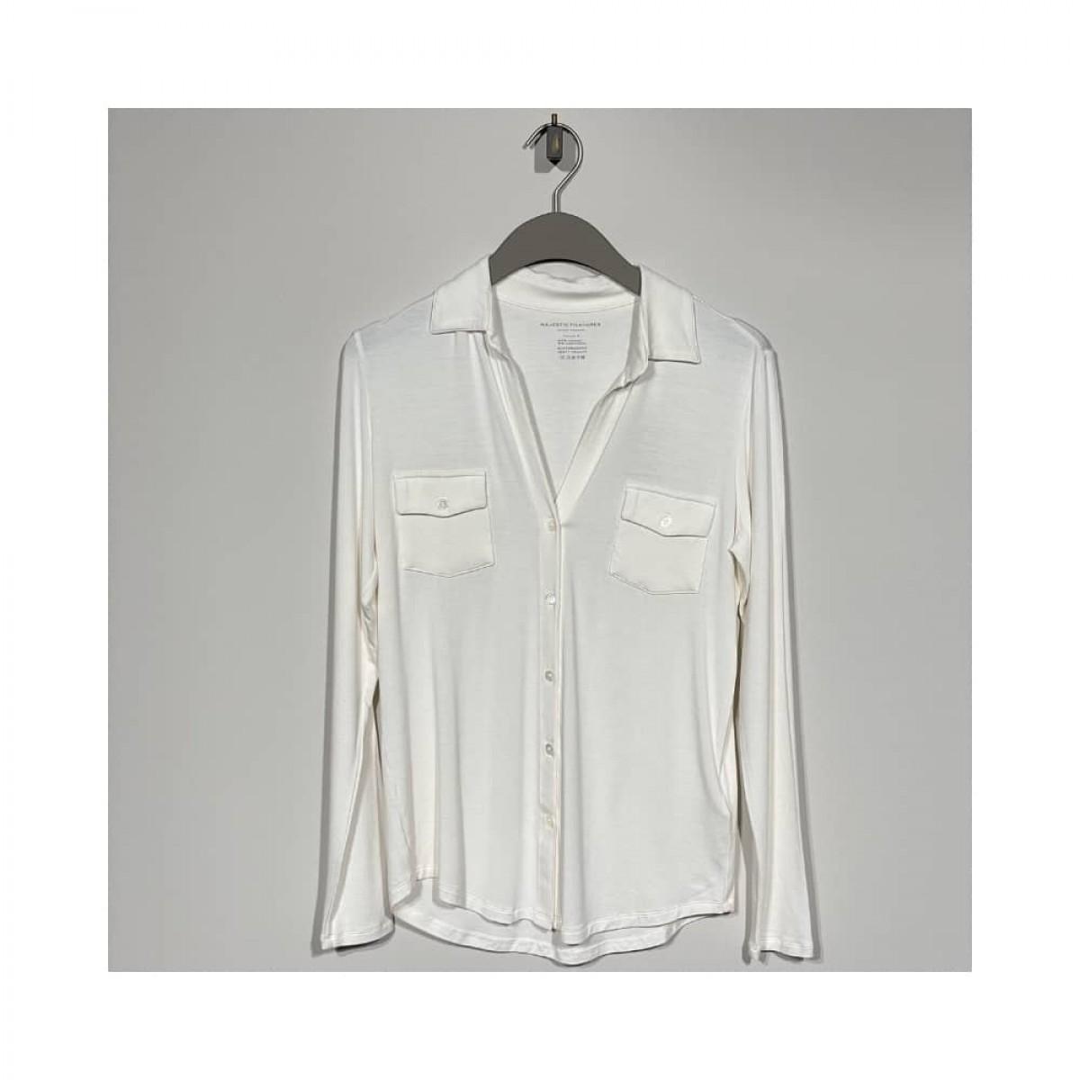 jersey skjorte - milk