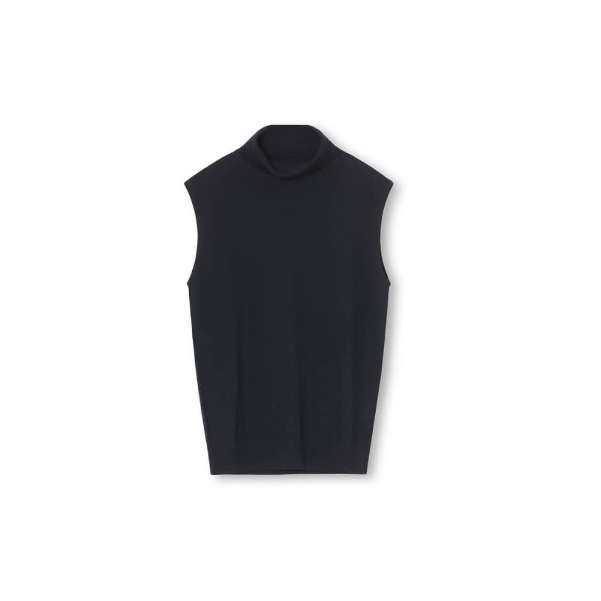 alka vest - black