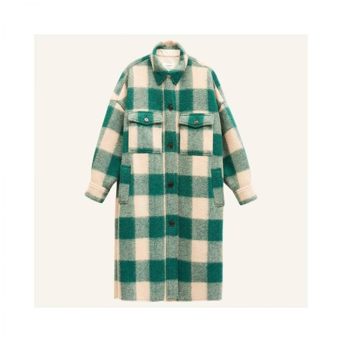fontizi coat - green